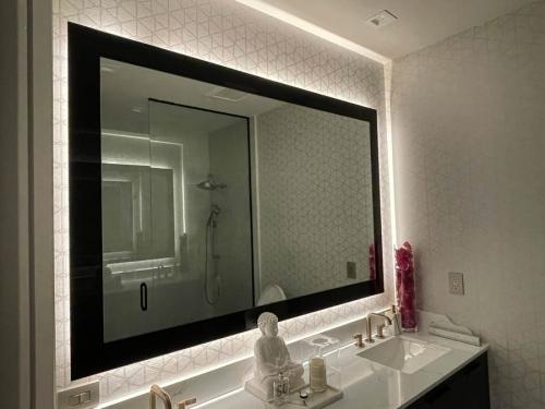Vintage LED Mirror